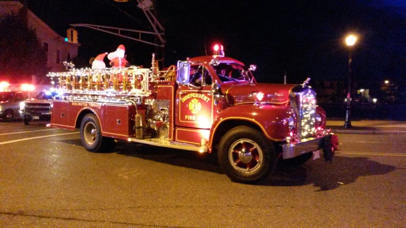 BURLINGTON CITY CHRISTMAS PARADE