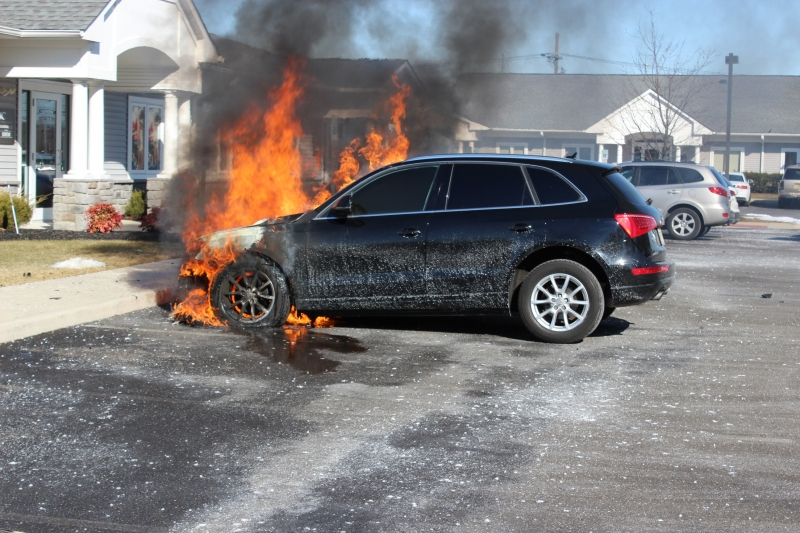 CAR FIRE WITH EXTENSION